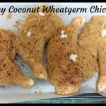 Crunchy Coconut Wheatgerm Chicken