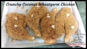 Crunchy Coconut Wheatgerm Chicken