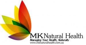 MK Natural Health Flower Logo
