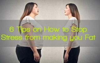 STRESS FAT 6 tips
