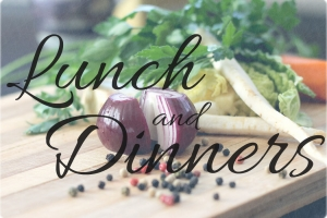 2. Lunch & Dinners
