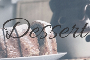 3. Dessert