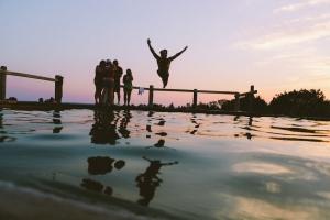 summer fun swimming