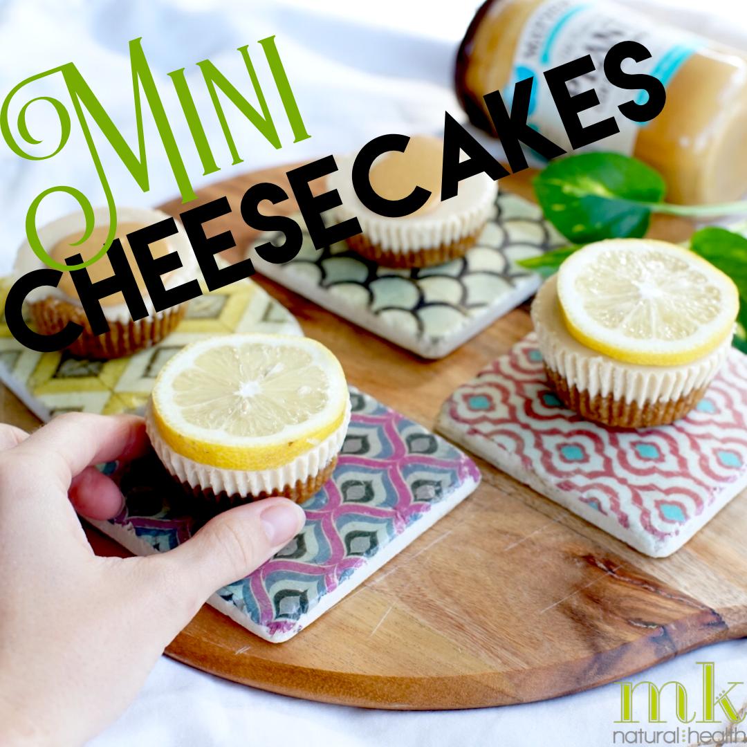 Raw Cheesecakes